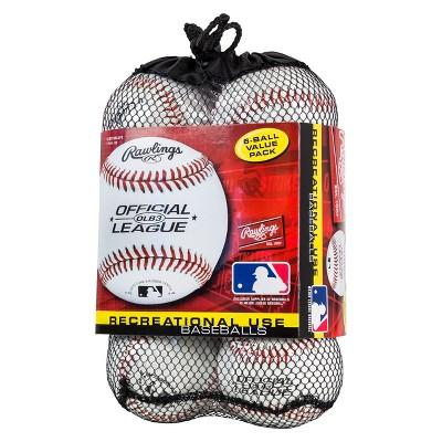 Rawlings Official Baseball 6pk