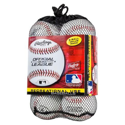 cea7ec7d Rawlings Official Baseball 6pk : Target