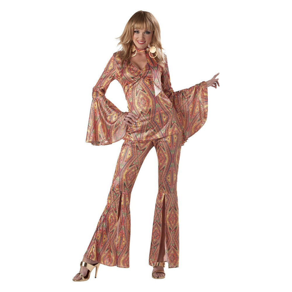 Adult Discolicious Halloween Costume M, Women's, Multi-Colored