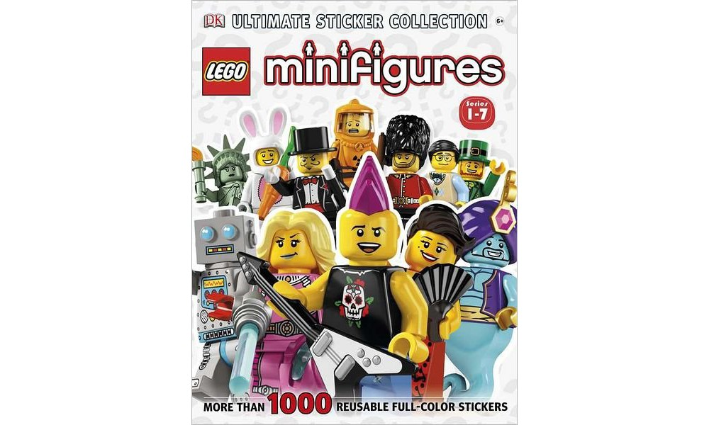Lego Minifigures Ultimate Sticker Collection 1-6 (Sticker...
