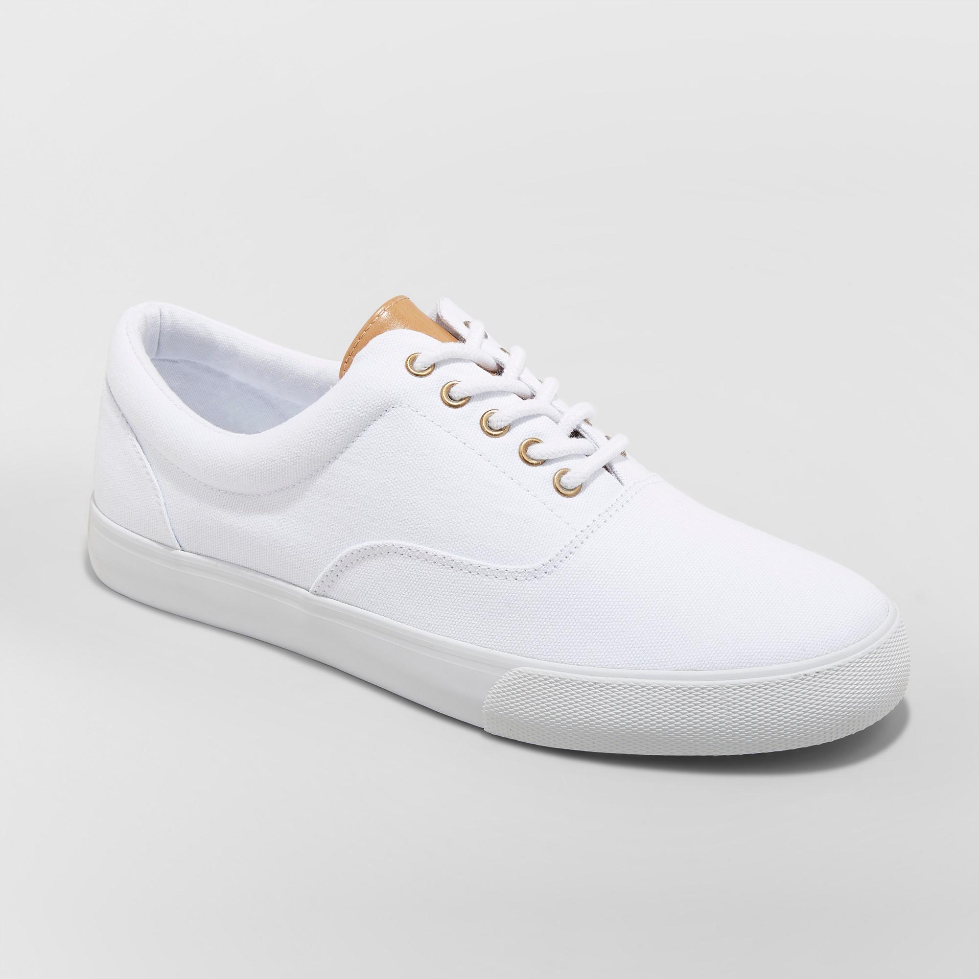Men's Park Sneakers - Goodfellow & Co White 9