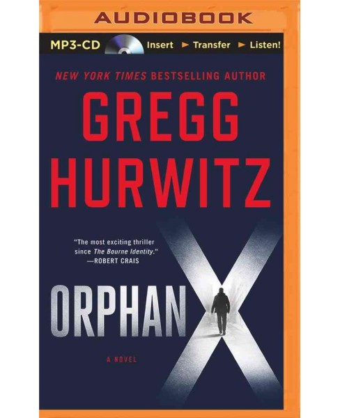Orphan X (MP3-CD) (Gregg Hurwitz) - image 1 of 1