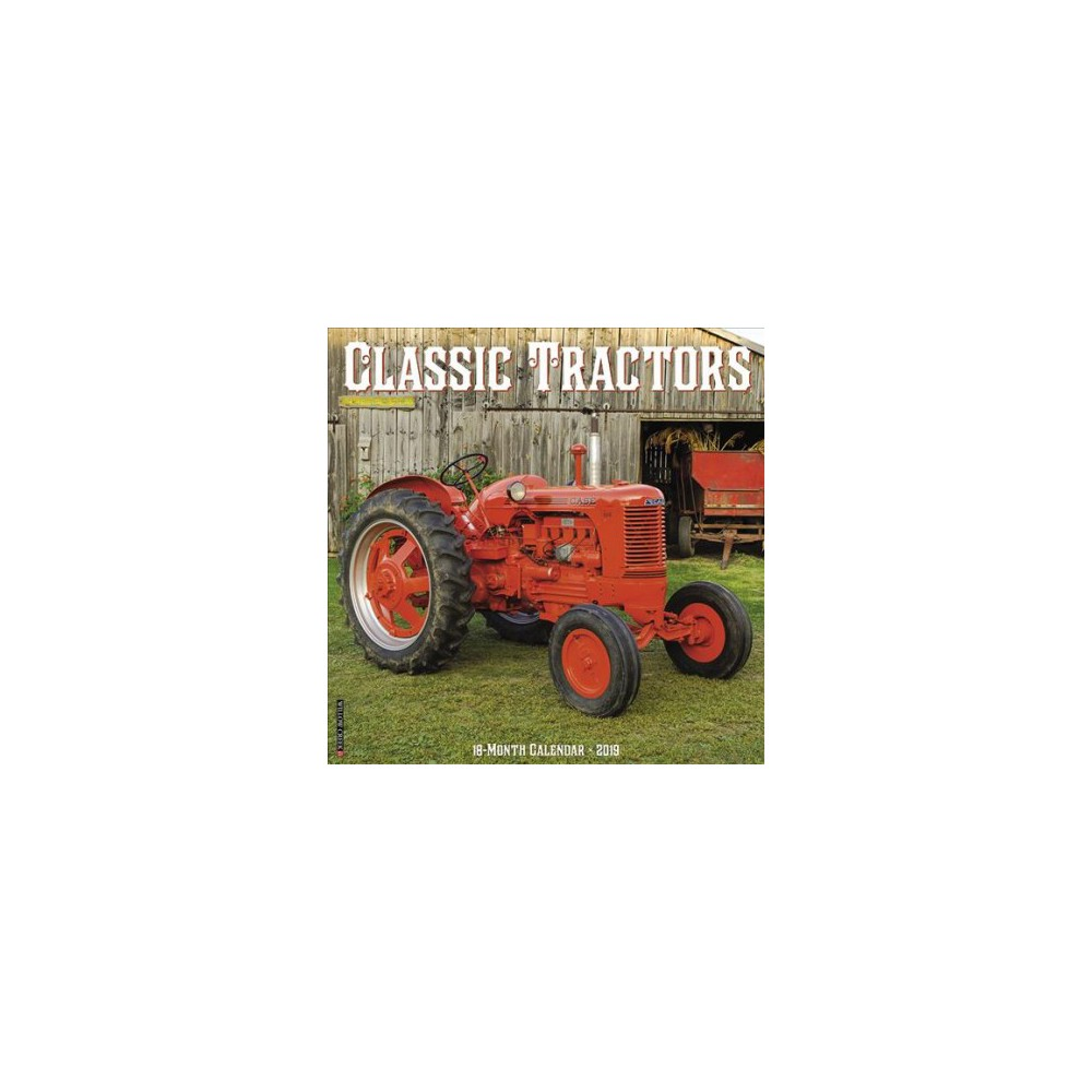 Classic Tractors 2019 Calendar - (Paperback)