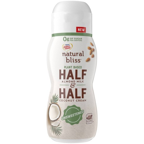 Coffee Mate Natural Bliss Unsweetened Plant Based Half & Half - 16 fl oz - image 1 of 3