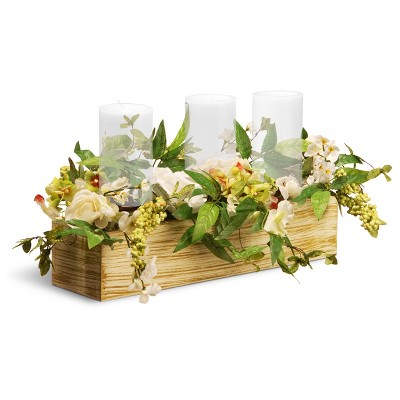 "Spring Collection Candleholder Cream 22"" - National Tree Company"