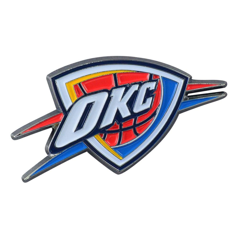 Nba Oklahoma City Thunder 3d Metal Emblem