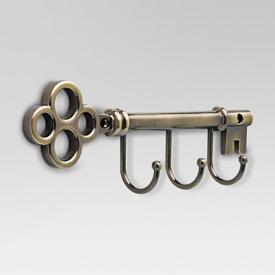 Hook Rack - Antique Brass - Threshold™