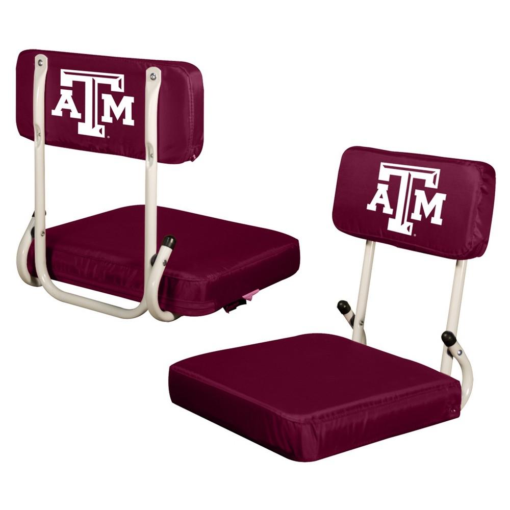 NCAA Texas A&m Aggies Logo Brands Hard Back Stadium Seat