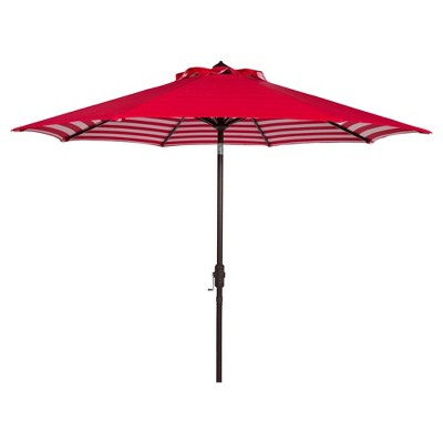 9' Athens Auto Tilt Umbrella - Safavieh