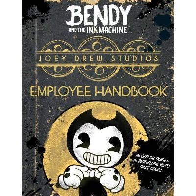 Joey Drew Studios Employee Handbook -  by Scholastic Inc. & Cala  Spinner (Paperback)