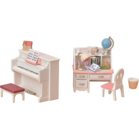 Calico Critters Piano and Desk Set - image 1 of 4