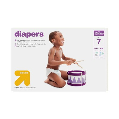 Diapers Giant Pack Size 7 (88ct)- Up&Up™