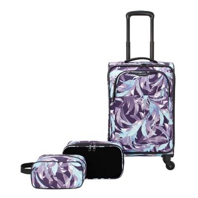 Skyline Softside 3pc Spinner Luggage Set