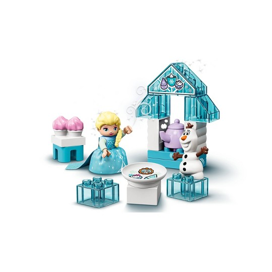LEGO DUPLO Disney Frozen Toy Featuring Elsa and Olaf's Tea Party 10920 image number null