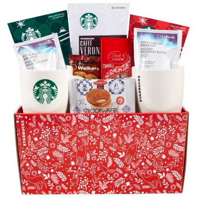 Starbucks Woodland Holiday Gift Basket