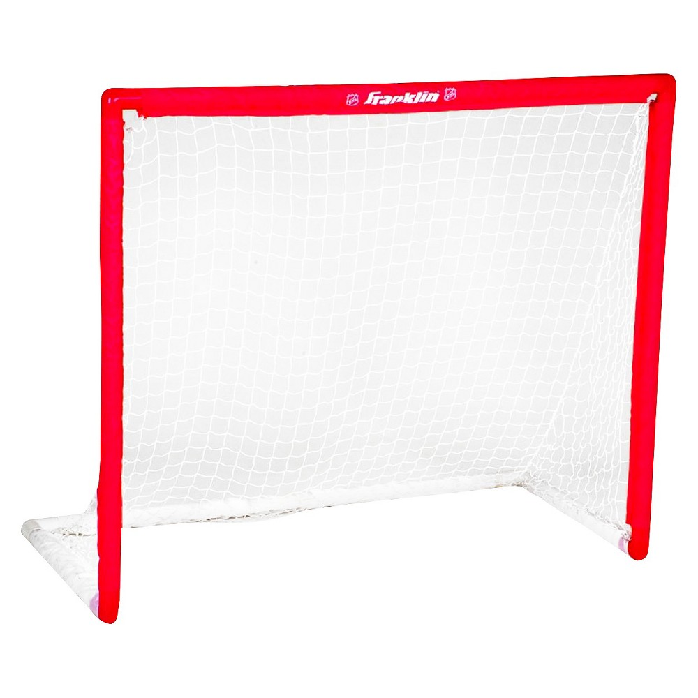 Franklin Sports NHL Sleeve Net 46 x40  PVC Goal, Multi-Colored Get ready to score with the Franklin Sports SX Competition 46  PVC Goal. Transform any patch of pavement to a place to practice with a hockey net that is just the right size to work on your wicked slap shots. This street hockey goal is ideal for practice or for an epic pickup game. 22x46x40  (LxWxH). 90 day limited manufacturer warranty. Color: Multi-Colored. Age Group: Adult.