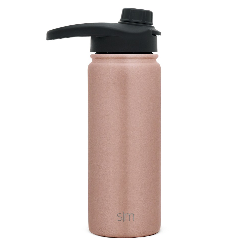 Simple Modern 18oz Stainless Steel Water Bottle Rose Gold