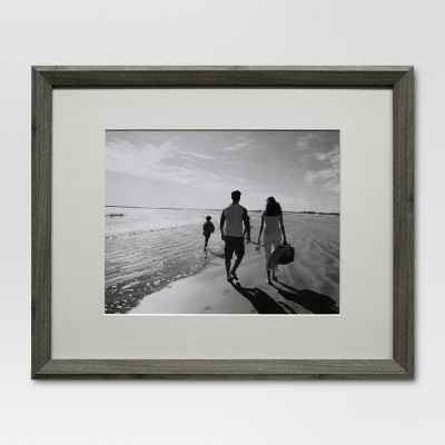 Single Image Frame 11X14 Gray - Threshold™