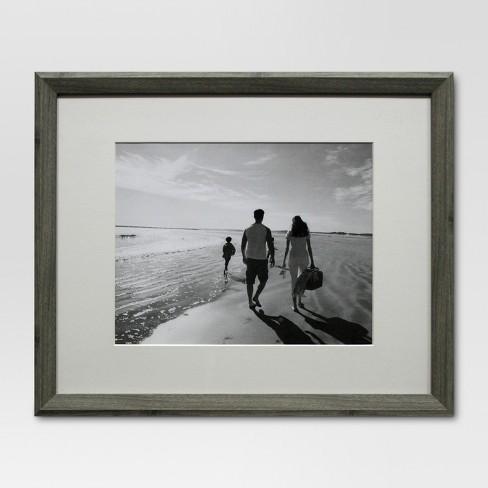 Single Image Frame 11x14 Gray Threshold Target