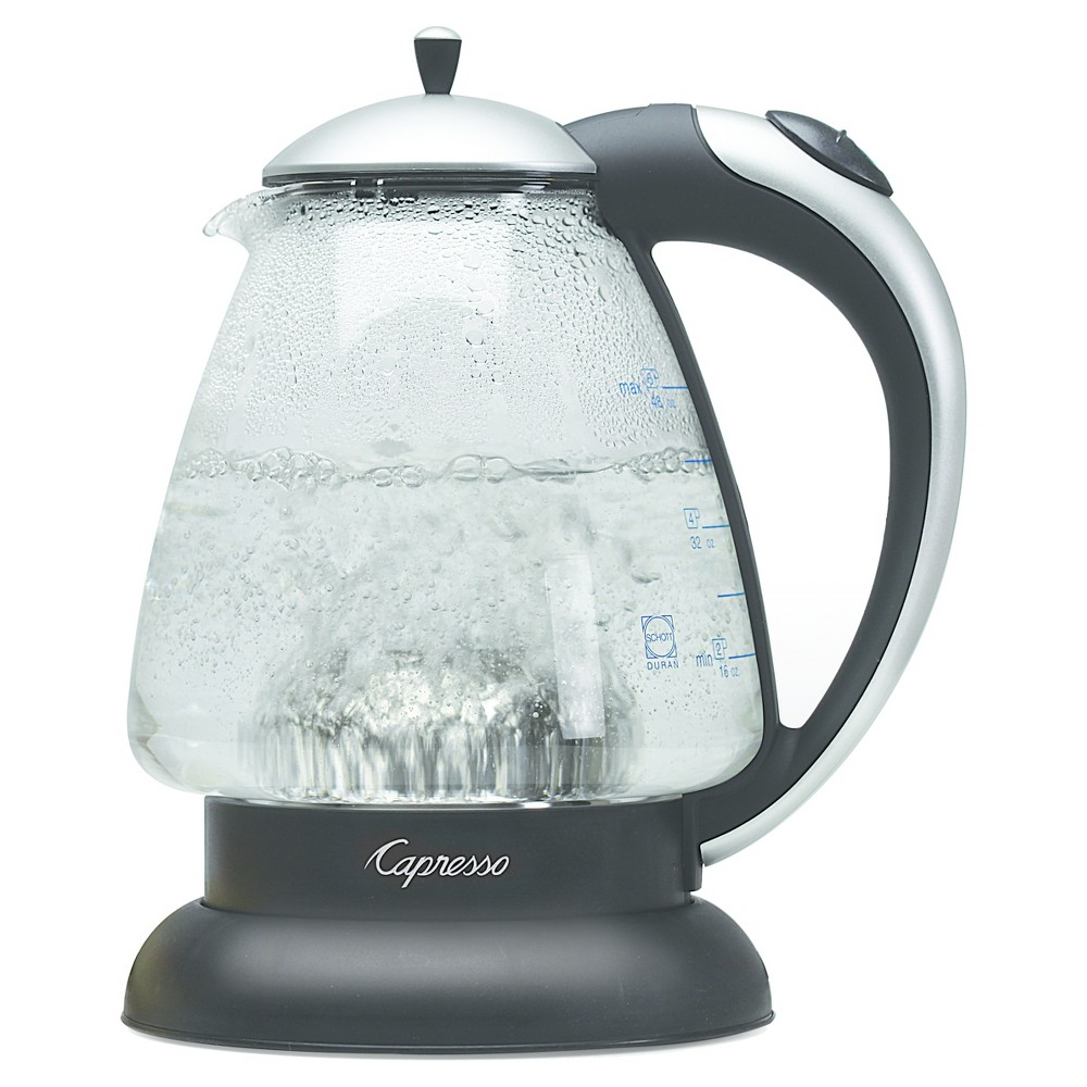 Capresso H2O Plus Glass Water Kettle Black 259.04 52112758