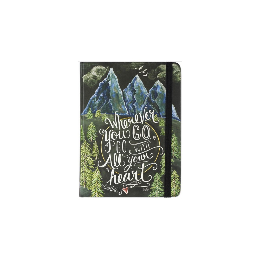 Wherever You Go, Go With All Your Heart Journal - (Hardcover)