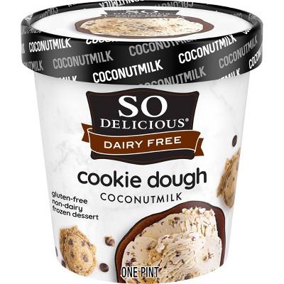 So Delicious Dairy Free Cookie Dough Coconut Milk Frozen Dessert - 16oz