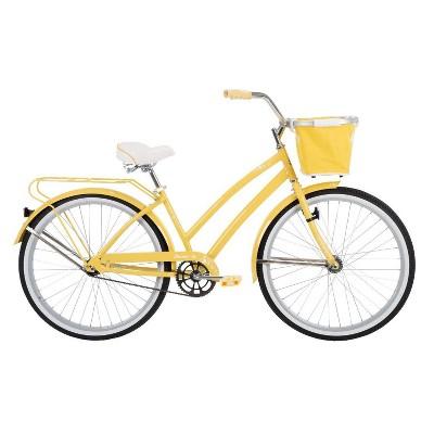 """Huffy Women's Nassau 26"""" Cruiser Bike - Yellow"""