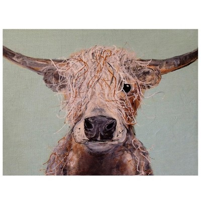 22 x28  Baylor By Laura Sue Peters Art On Canvas - Fine Art Canvas