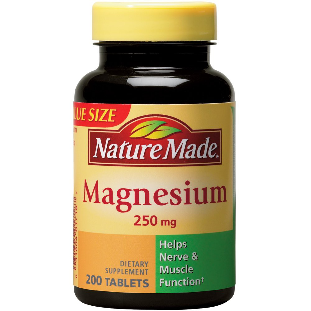 UPC 031604017187 product image for Nature Made Magnesium 250 mg Tablets - 200 Count | upcitemdb.com