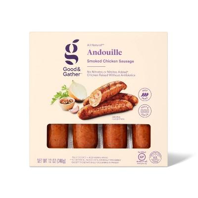 Andouille Chicken Sausage - 12oz - Good & Gather™