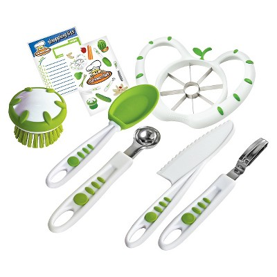 Curious Chef 6pc Fruit and Veggie Prep Kit