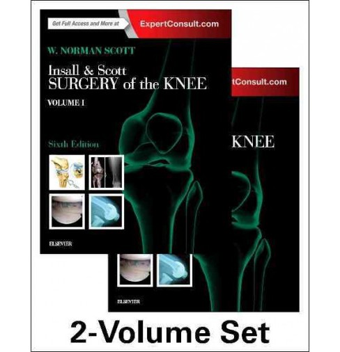 Insall & Scott Surgery of the Knee (Hardcover) (W. Norman Scott) - image 1 of 1