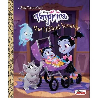 The Littlest Vampire (Disney Junior Vampirina) - (Little Golden Book) by  Lauren Forte (Hardcover)