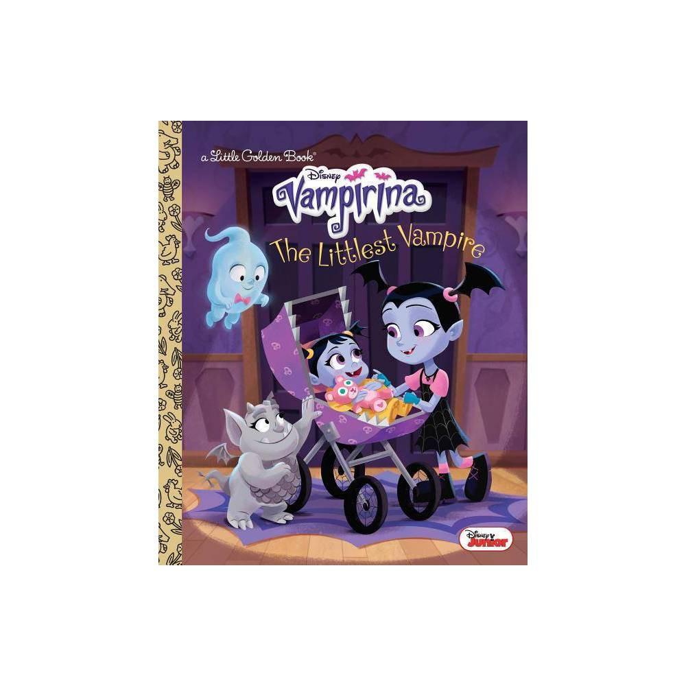 The Littlest Vampire Disney Junior Vampirina Little Golden Book By Lauren Forte Hardcover