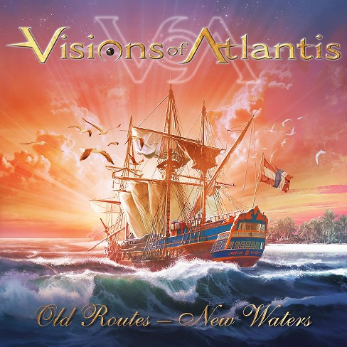 Visions of atlantis - Old routes:New waters (CD) - image 1 of 1