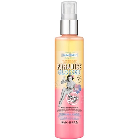 Soap & Glory Call of Fruity Paradise Glossed Moisturizing Body Oil - 5oz - image 1 of 4