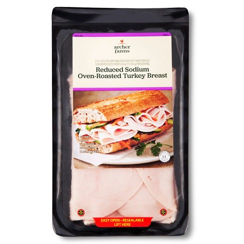 Oven Roasted Turkey Breast Reduced Sodium - Archer Farms™ - image 1 of 1