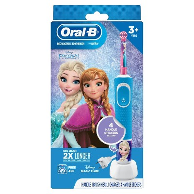 Oral-B Kids Electric Toothbrush featuring Disney's Frozen II for Kids 3+