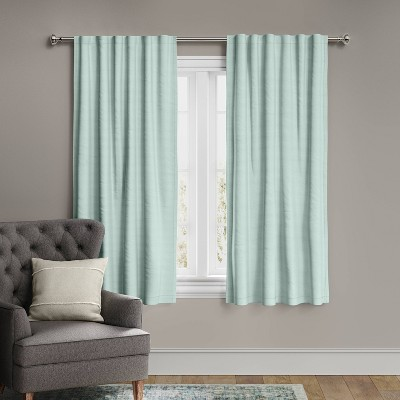 Voile Overlay Blackout Window Curtain Panel - Threshold™
