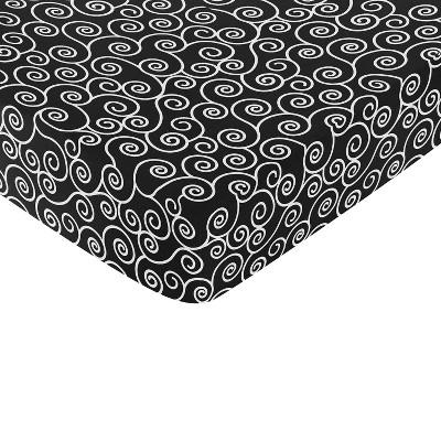Sweet Jojo Designs Kaylee Fitted Crib Sheet - Print