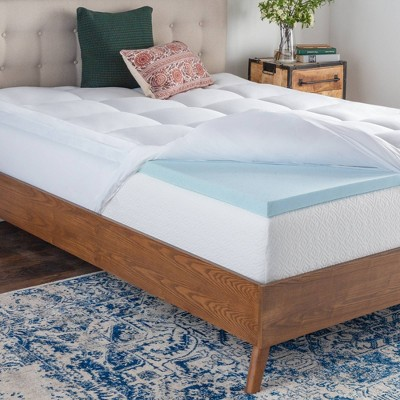 Pillow Top & Gel Memory Foam Mattress Topper - Brookside