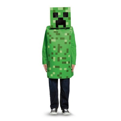Kids' Minecraft Creeper Halloween Costume