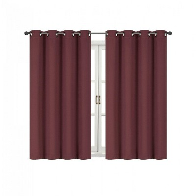 Kate Aurora 100% Thermal Blackout Bath & Kitchen Window Curtains