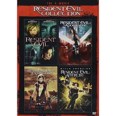 Resident Evil Movie Collection (DVD)