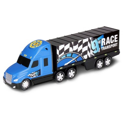 Kid Galaxy Road Rockers Motorized Lights and Sound Transporter Truck
