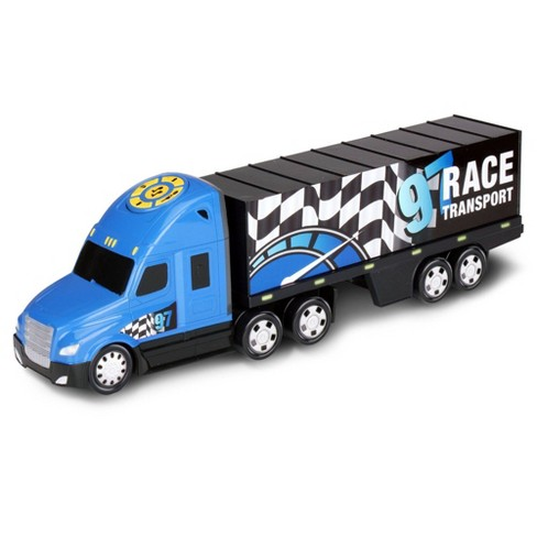 Kid Galaxy Road Rockers Motorized Lights and Sound Transporter Truck - image 1 of 3