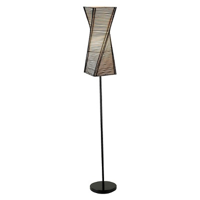"68"" Stix Collection Floor Lamp Brown - Adesso"