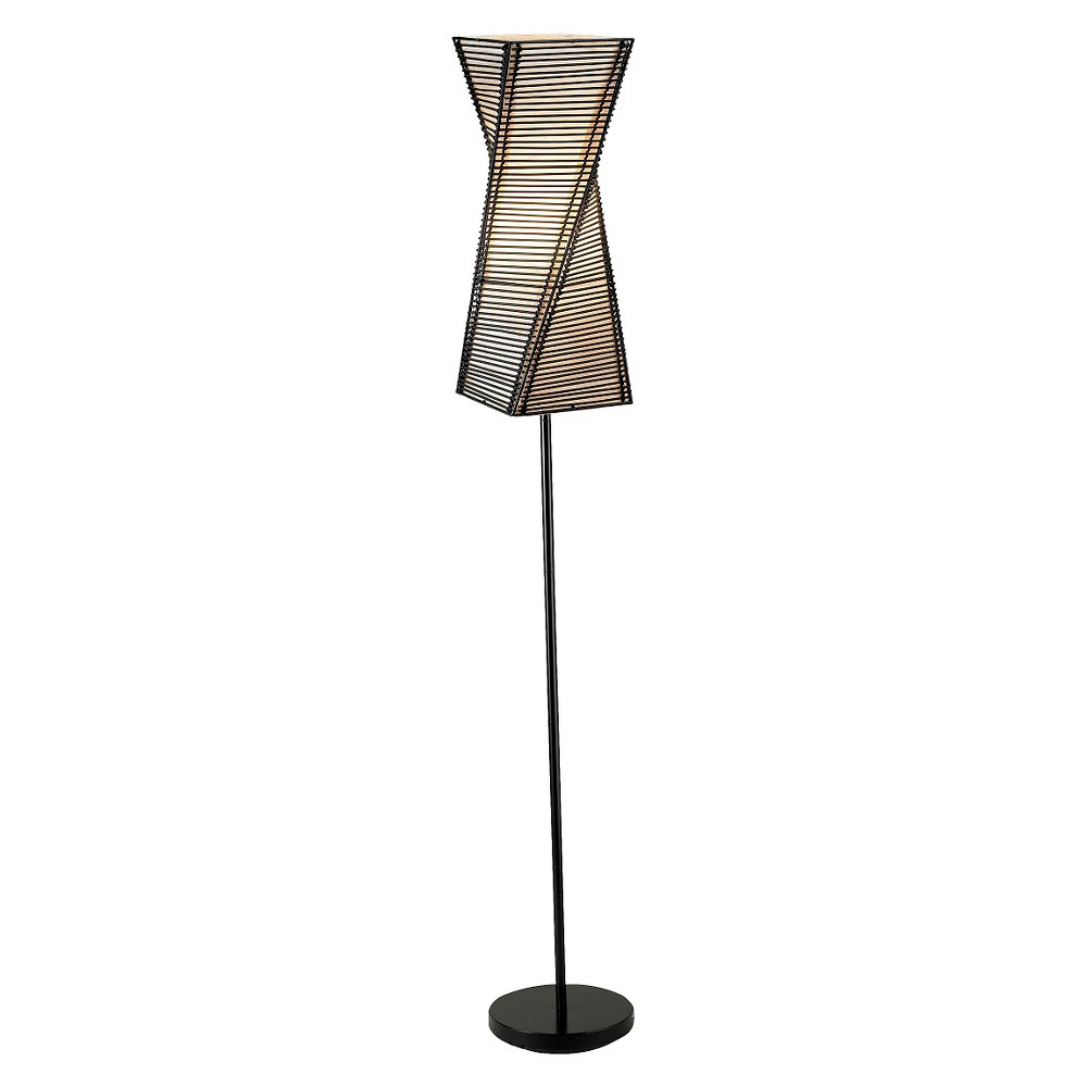 Image of Adesso Stix Floor Lamp - Brown
