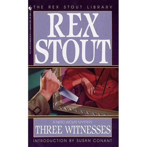 Three Witnesses - (Nero Wolfe) by  Rex Stout (Paperback) - image 1 of 1