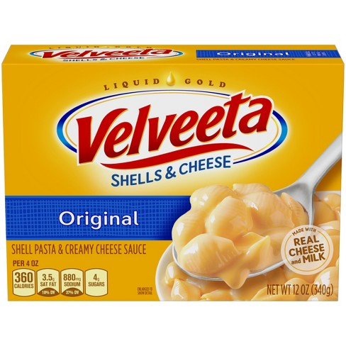 Kraft Velveeta Shells & Cheese Dinner Original 12oz - image 1 of 3